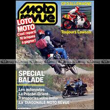 MOTO REVUE N°2753 KAWASAKI EN 450 LTD HONDA GL 1200 GOLDWING HONDA XL 600 L 1986