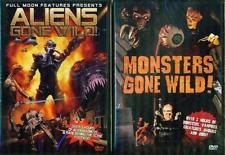 ALIENS & MONSTERS GONE WILD: Full Moon Films- NEW 2 DVD