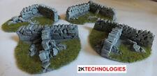Javis PW1CORN 1 x Assorted Roadside Dry Stone Walling Corner '00' Gauge 2nd Post