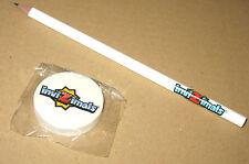 Invizimals promotional Bleistift & Radiergummi / Pencil & Eraser