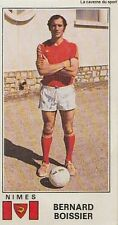 N°234 BERNARD BOISSIER NIMES OLYMPIQUE VIGNETTE PANINI FOOTBALL 77 STICKER 1977