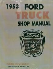 1953 Ford Truck Shop Manual-All Models
