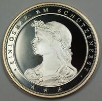 1988 Switzerland Silver 50 Francs Shooting Taler Swiss Proof Coin JA