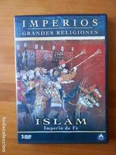 DVD GRANDES RELIGIONES - IMPERIOS - ISLAM - IMPERIO DE FE (3 DVD) (C6)