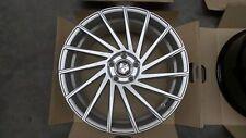 19 Zoll UA9 Alu Felgen Concave 5x112 Silber Gutachten für Mercedes Benz E W211