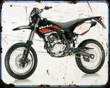 Beta M4 Motard 07 01 A4 Metal Sign Motorbike Vintage Aged