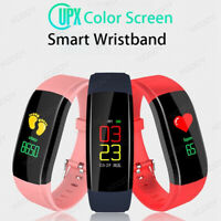 Smart Band Watch Bracelet Sport Fitness Tracker For Women Men Fitbit Android iOS