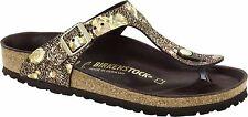 Birkenstock Exquisit Gizeh Spotted Metallic Brown Größe 35-42 Fußbett normal
