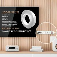 Multi-function Two sided Adhesive Nano Tape Washable Removable Gel Grip Stickers