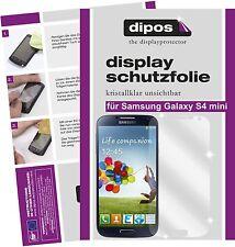 Samsung Galaxy S4 mini Schutzfolie klar Displayschutzfolie Folie unsichtbar