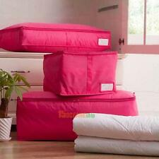 Foldable Travel Storage Bags Clothes Quilt Packing Cube Luggage Organizer Pouch