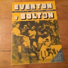 Teams C-E Everton League Cup Final Football Programmes