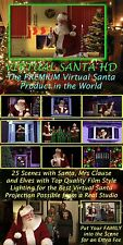 VIRTUAL SANTA 2016 in DVD, The Original Virtual Santa redone in HD, by Jon Hyers