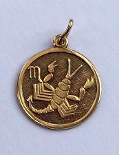 Anhänger Sternzeichen Skorpion Gold 333 FB Gelbgold 8K