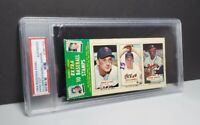 PSA 1964 Topps Bazooka Panel Harmon Killebrew / Farrell / Hank Aaron Authentic