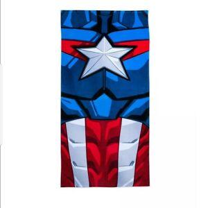 OFFICIAL Disney Store Captain America beach bath towel. BNWT