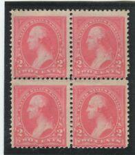 United States Stamps Scott #248 BLk of 4,  MINT,No Gum,VG-Fine (X3785N)