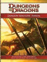 Dungeon Magazine Annual, Vol. 1: A 4th Edition D&D Compilation (D&D Supplement),