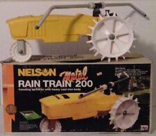 Vintage Nelson Rain Train 200 Traveling Cast Iron Lawn Sprinkler 1860