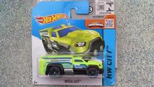 Hot Wheels 2015 #046/250 RESCATE Duty Verde HW Ciudad Funda K