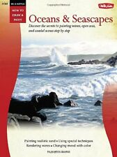 Walter Foster Creative Books-Oil & Acrylic: Oceans & Seascapes (How to Draw & Pa
