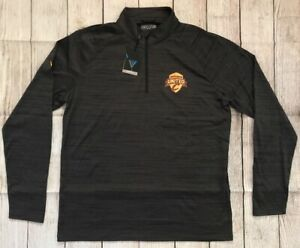Brand New - Cleveland Cavaliers Wine & Gold United Pullover Quarter Zip Shirt
