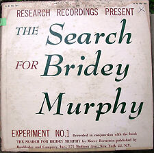 The Search For Bridey Murphy - true recordings from 1956