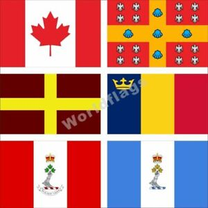 Canada University Flag 3X5FT Laval Queens Mount Allison Royal Military College