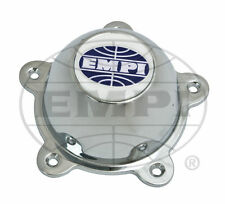 EMPI WHEEL CENTER CAP GT-5 & 5-RIB,CHROME CAP WITH SCREWS AND LOGO, EACH 9709
