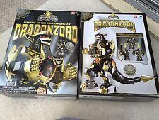 Power rangers Dragonzord collectors legacy megazord black & gold edition *MISB*