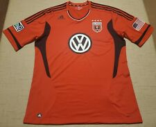 D.C. United Adidas ClimaCool Formotion Men's 2XL red MLS soccer jersey
