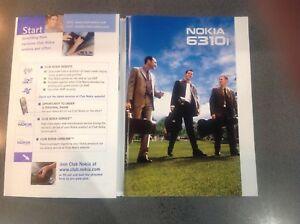 Nokia Retro 6310i Original User Guide / Instruction Manual