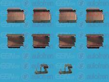 Zubehörsatz Scheibenbremsbelag AUTOFREN SEINSA D42399A für OPEL MERIVA X03 CORSA