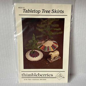 Thimbleberries Tabletop Christmas Tree Skirt Pattern