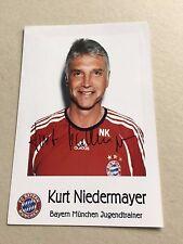 KURT NIEDERMAYER (FC BAYERN MÜNCHEN) signed Photo 10x15