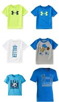 New Under Armour Boys Graphic Print Shirt Choose Size and Color