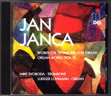 Jan JANCA b.1933 Organ & Trombone Romantic Suite Mike SVOBODA Ludger LOHMANN CD