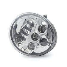 Chrome LED Headlight Hi/Lo Headlamp For Harley Davidson V Rod VRSCA VRSCDX VRSC