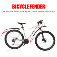 Cycling Mountain Bike Bicycle Front Rear Fender Mudguard Mud Guard For 26-29inch