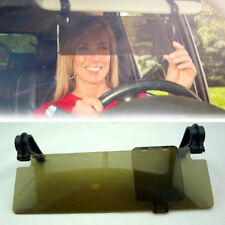 Clip on Car HD Clear Vision Anti Dazzle Glare Block Shade Sun Visor Extension TE