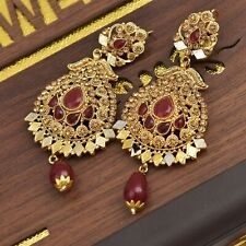 Pakistani Indian Fashion Jewelry Earring for Wedding Party & Gift - J62