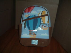 LOUNGEFLY DISNEY DOGS IN AIR BALLOON MINI BACKPACK~ WITH TAGS~NEW~