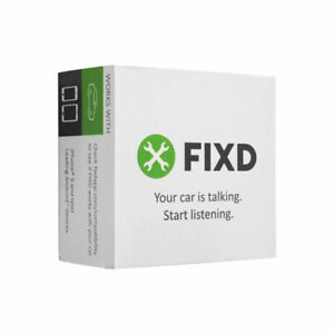 FIXD OBD-II 2nd Gen Professional Scan Tool Active Car Health Monitoring Reader
