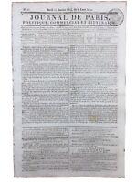 Suisse en 1814 Campagne de France Liège Rouen Beauvais Journal de Paris