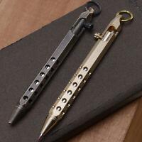 Handgemacht Metall Kugelschreiber Stift Retro Messing/Schwarz für Büro Geschenke