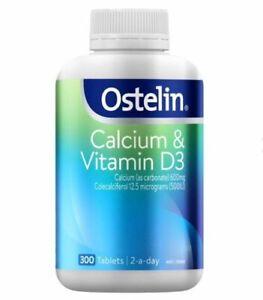 Ostelin Calcium & Vitamin D3 - 300 Tablets