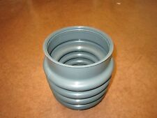 Wacker jumping jack rammer tamper boot bellows for Bs60-2, Bs70 gray Oem 0177356