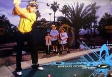 OAKLEY 2004 RICKY BARNES golf promotional poster ~MINT condition~!