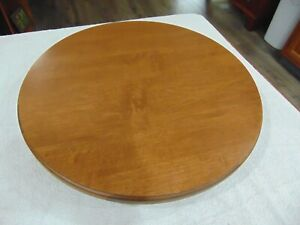 Tell City Chair Company Lazy Susan Andover Maple Finish
