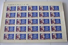 CHILE, NICE SCOTT 405 FULL 25 STAMPS SHEET